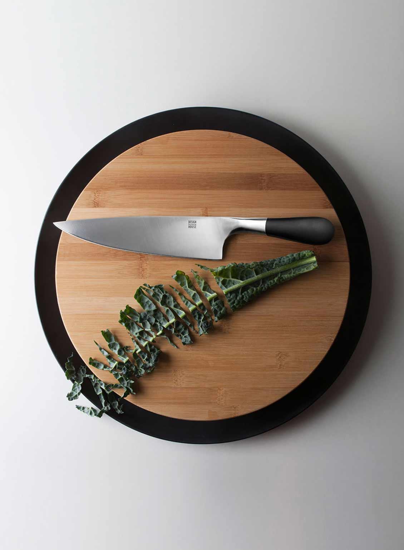 Design Housetockholm Meat Knife Trancher Chopping Board by Jesper Stahl