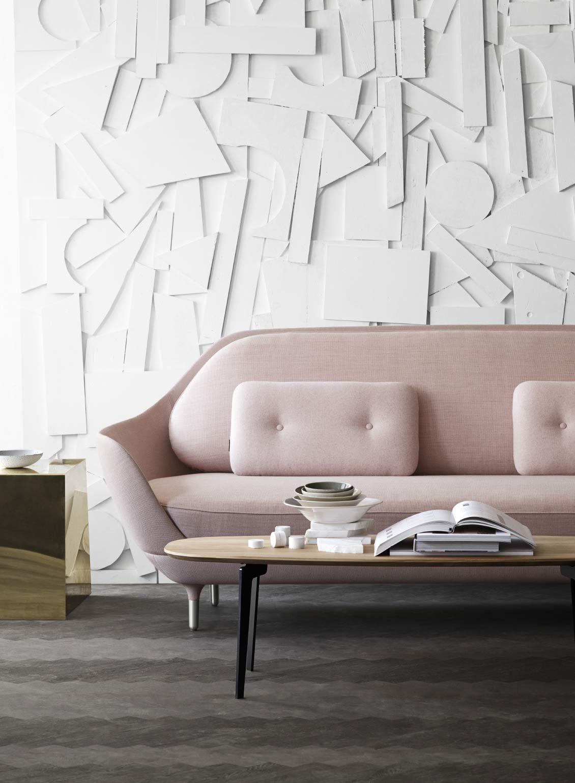 Fritz Hansen Favn sofa by Jamie Hayon