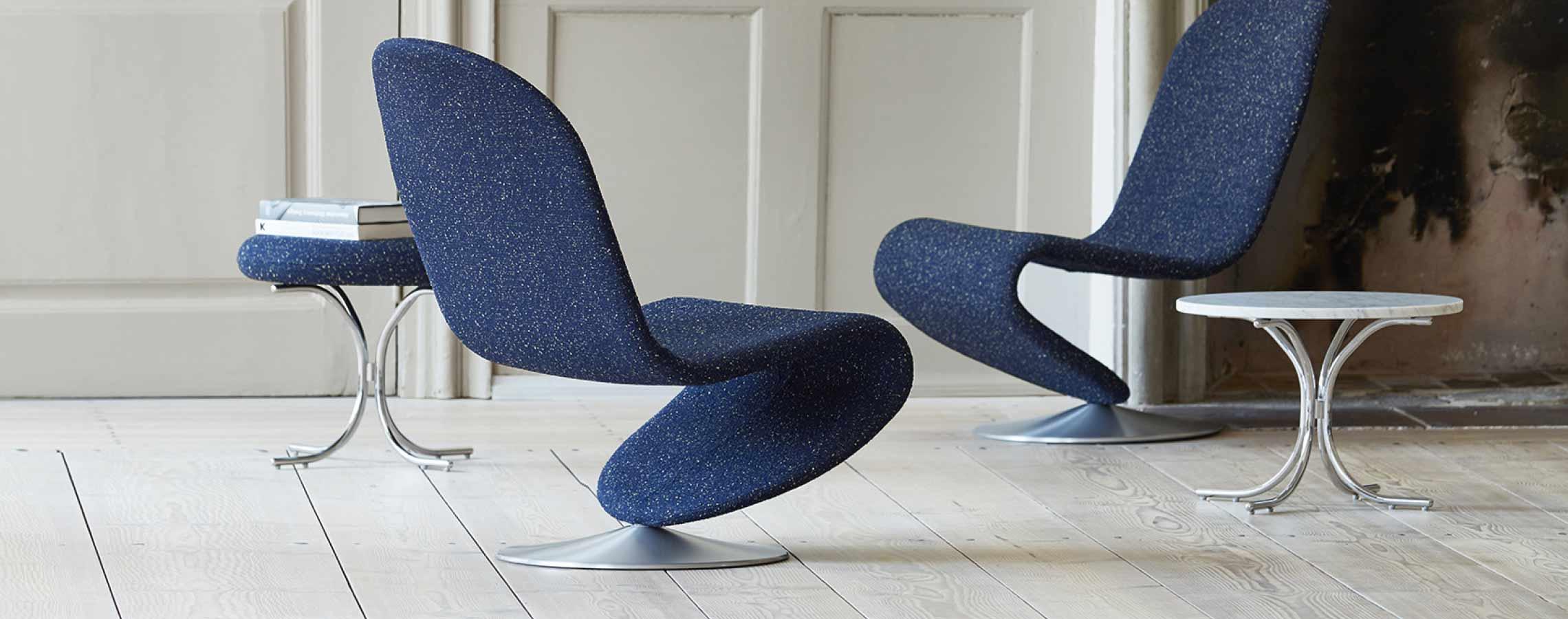 Verpan 123 lounge chair by Verner Panton
