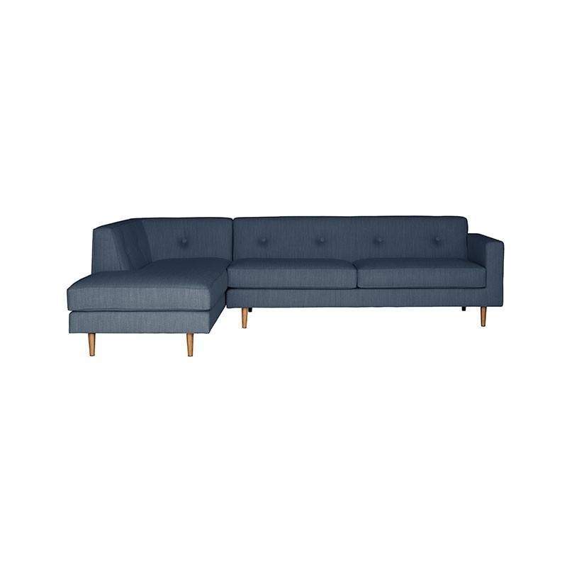 Buy Case Furniture S Moulton Three Seat Left Hand Facing Corner Sofa