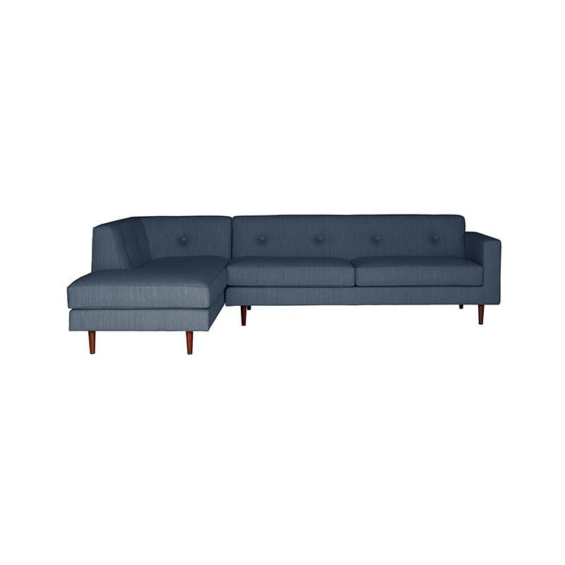 Case Furniture Moulton Three Seat Left Hand Facing Corner Sofa by Matthew Hilton