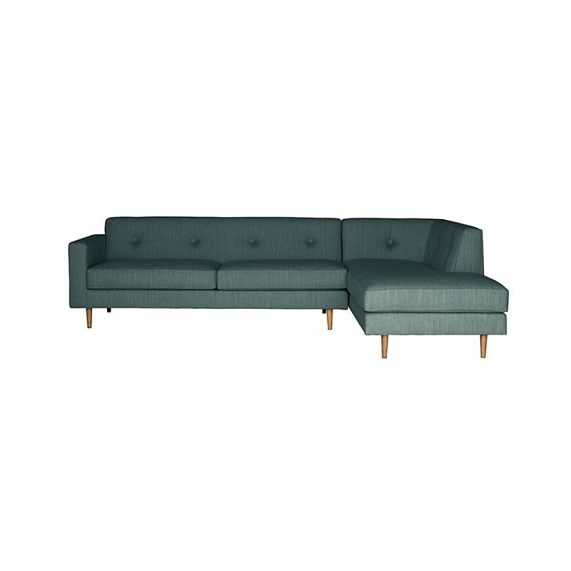 Case Furniture Moulton Three Seat Right Hand Facing Corner Sofa by Matthew Hilton