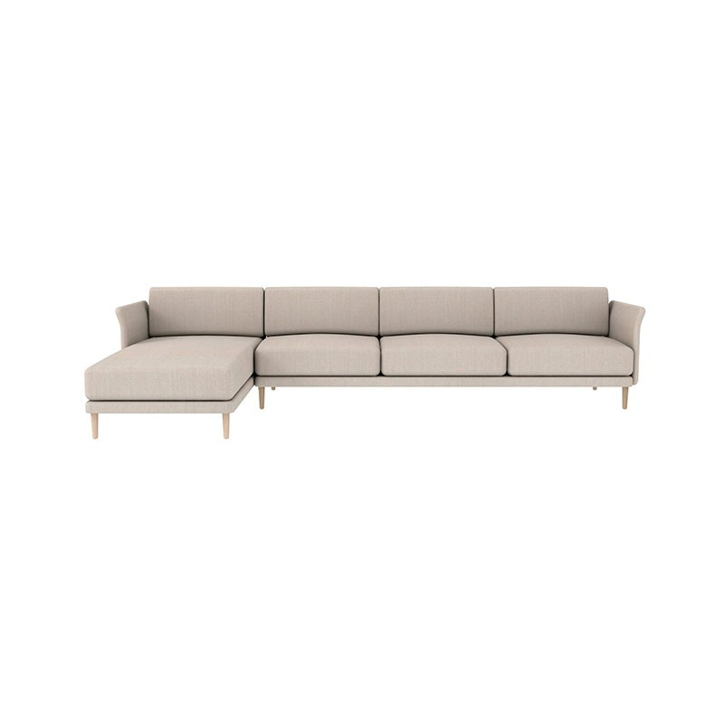 Case Furniture Theo Three Seat Left Hand Facing Corner Sofa by Matthew Hilton