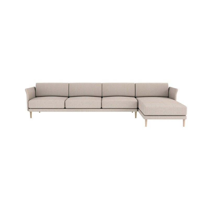 Case Furniture Theo Three Seat Right Hand Facing Corner Sofa by Matthew Hilton