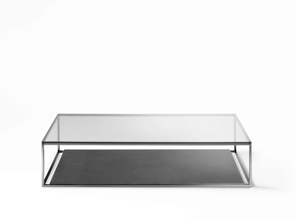Desalto Helsinki Low Square Table by Caronni Bonanomi