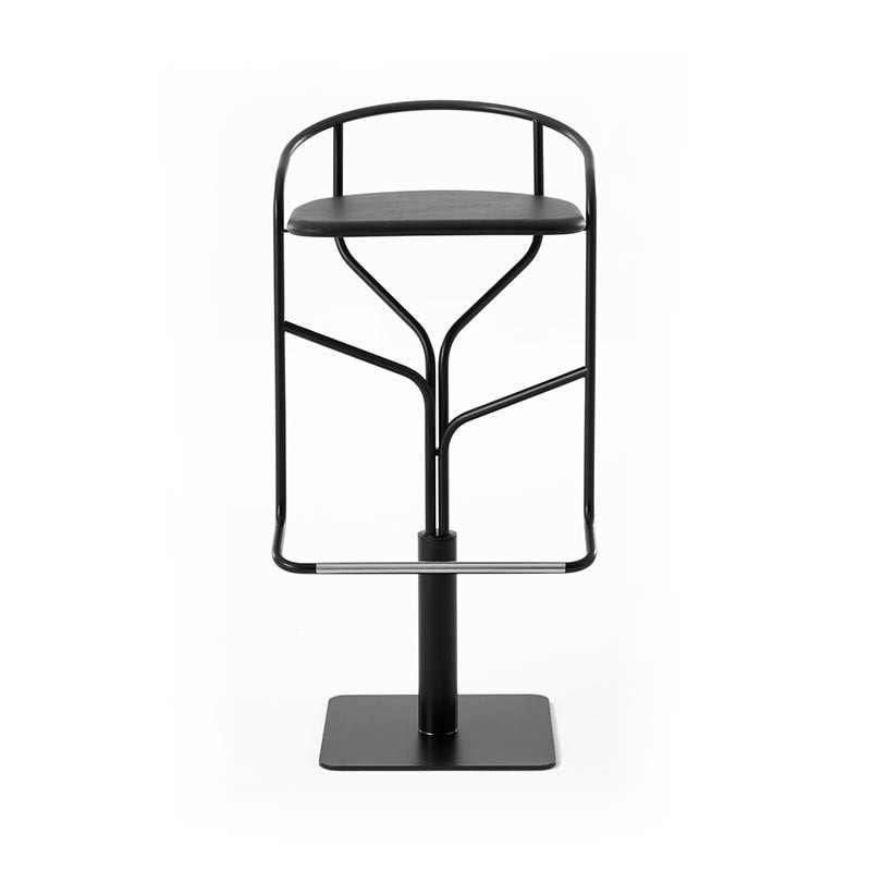 Desalto Ike High Bar Stool with Swivel Base by Victor Vasilev