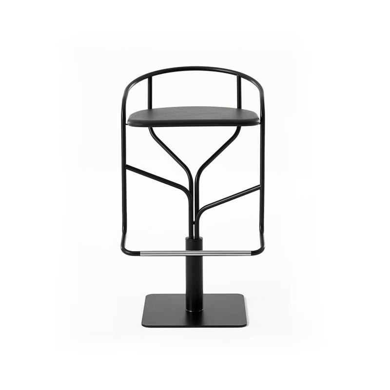 Desalto Ike Low Bar Stool with Swivel Base by Victor Vasilev