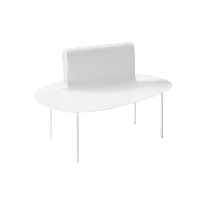 Desalto Softer than Steel Bench by Nendo