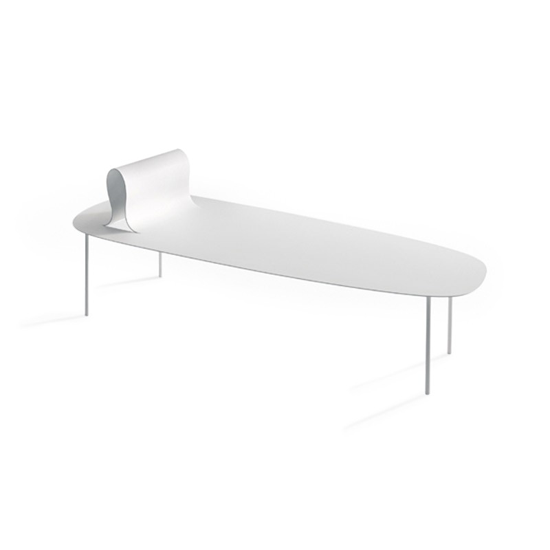 Desalto Softer than Steel Chaise by Nendo