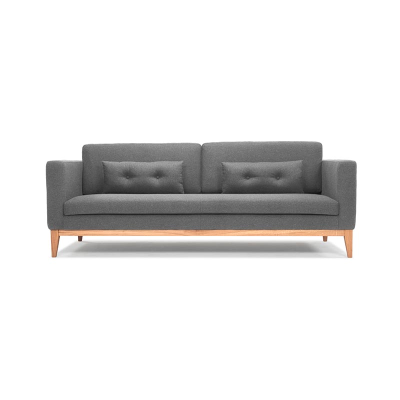 Design House Stockholm Day Three Seat Sofa by Design House Stockholm Studio