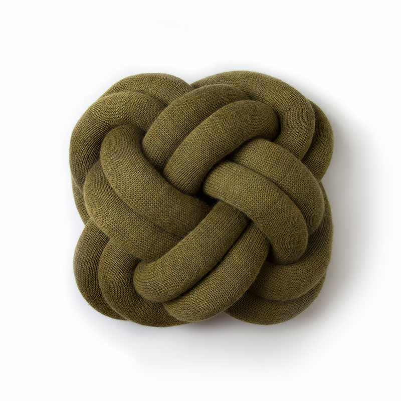 Design House Stockholm Clearance - Knot Cushion - Green by Ragnheidur Osp