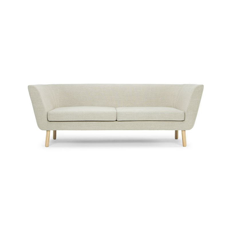 Design House Stockholm Nest Three Seat Sofa by Jesper Stahl