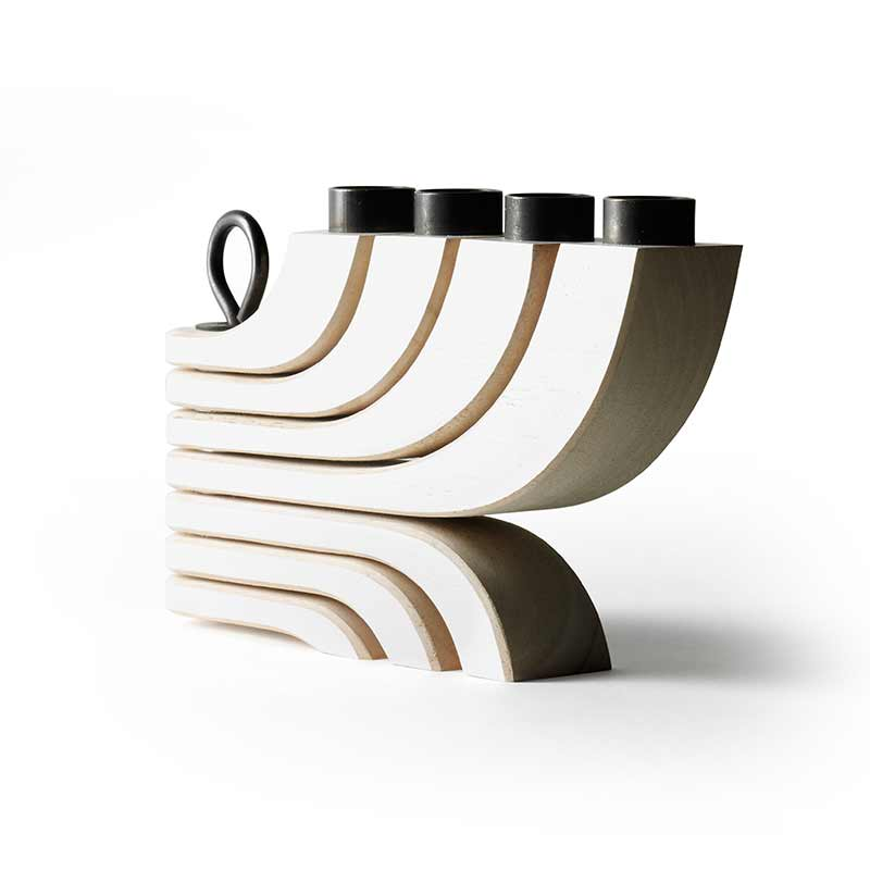 Design House Stockholm Clearance - Nordic Light 4 Arms - White by Jonas Grundell