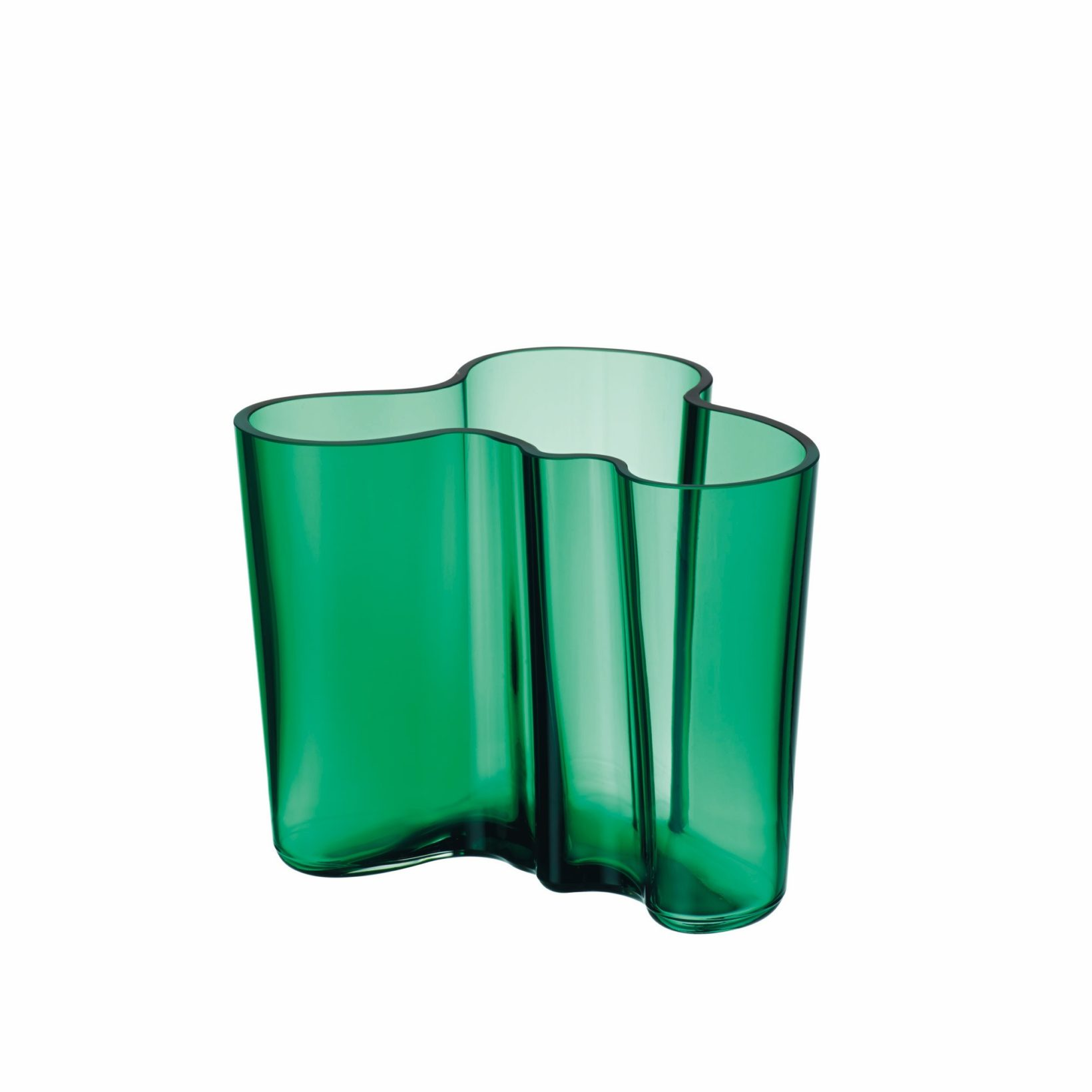 Buy Iittala S Aalto 120mm Glass Vase By Alvar Aalto