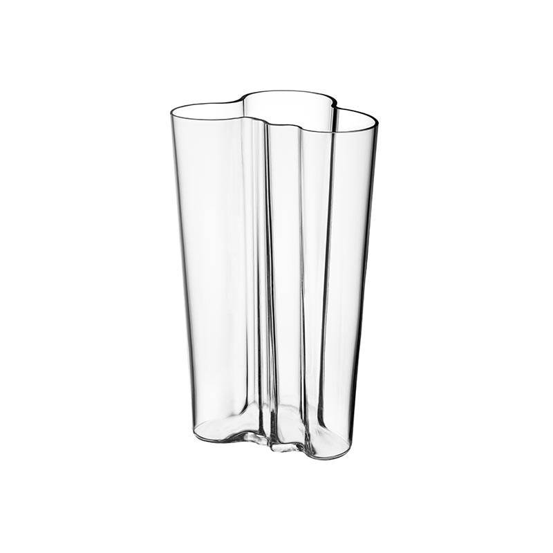 Buy Iittalas Aalto 201mm Glass Vase By Alvar Aalto Olson Baker