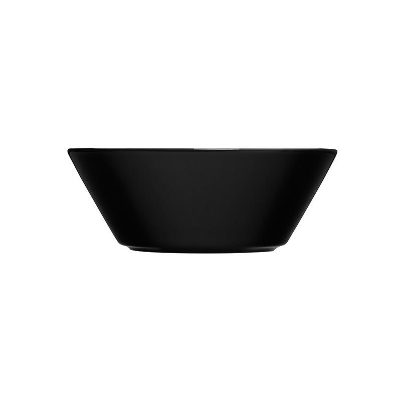 Iittala Teema Black 15cm Bowl – Set of Six by Kaj Franck Olson and Baker - Designer & Contemporary Sofas, Furniture - Olson and Baker showcases original designs from authentic, designer brands. Buy contemporary furniture, lighting, storage, sofas & chairs at Olson + Baker.