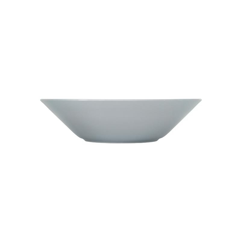 Iittala Teema Pearl Grey 21cm Deep Plate – Set of Six by Kaj Franck Olson and Baker - Designer & Contemporary Sofas, Furniture - Olson and Baker showcases original designs from authentic, designer brands. Buy contemporary furniture, lighting, storage, sofas & chairs at Olson + Baker.