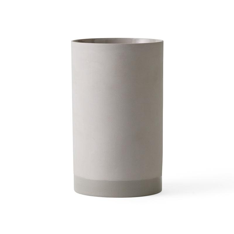 Menu Large Cylindrical Planter by Alexa Lixfeld