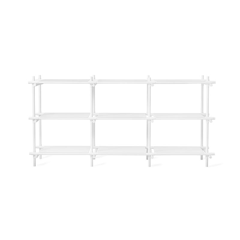 Menu Stick Wide Shelving System by Jan & Henry