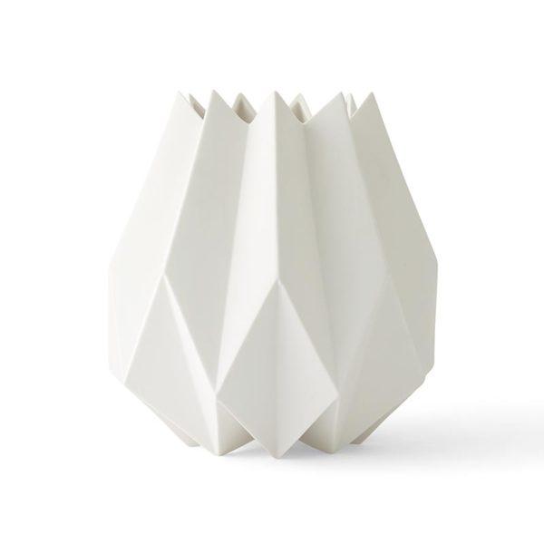 Tall Folded Vase