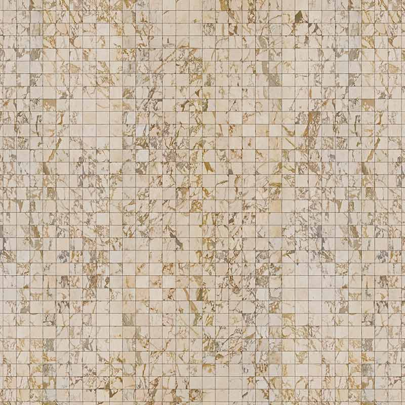 NLXL Beige Tiles 8.1x7.7cm Wallpaper by Piet Hein Eek
