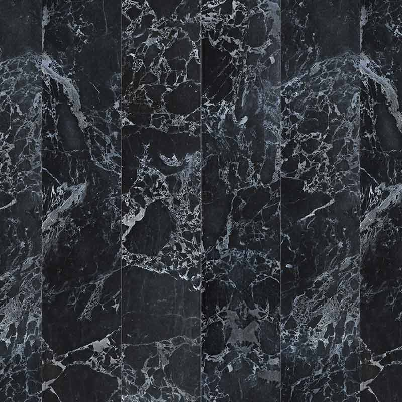 NLXL Black Marble No Joints Wallpaper by Piet Hein Eek