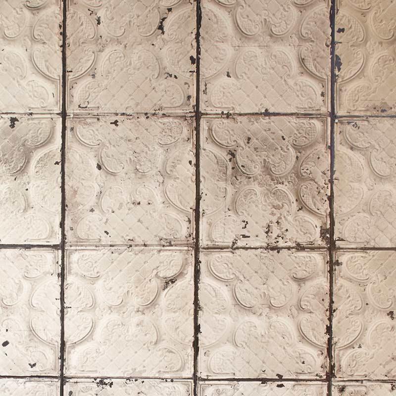 NLXL Brooklyn Tins Wallpaper by Merci