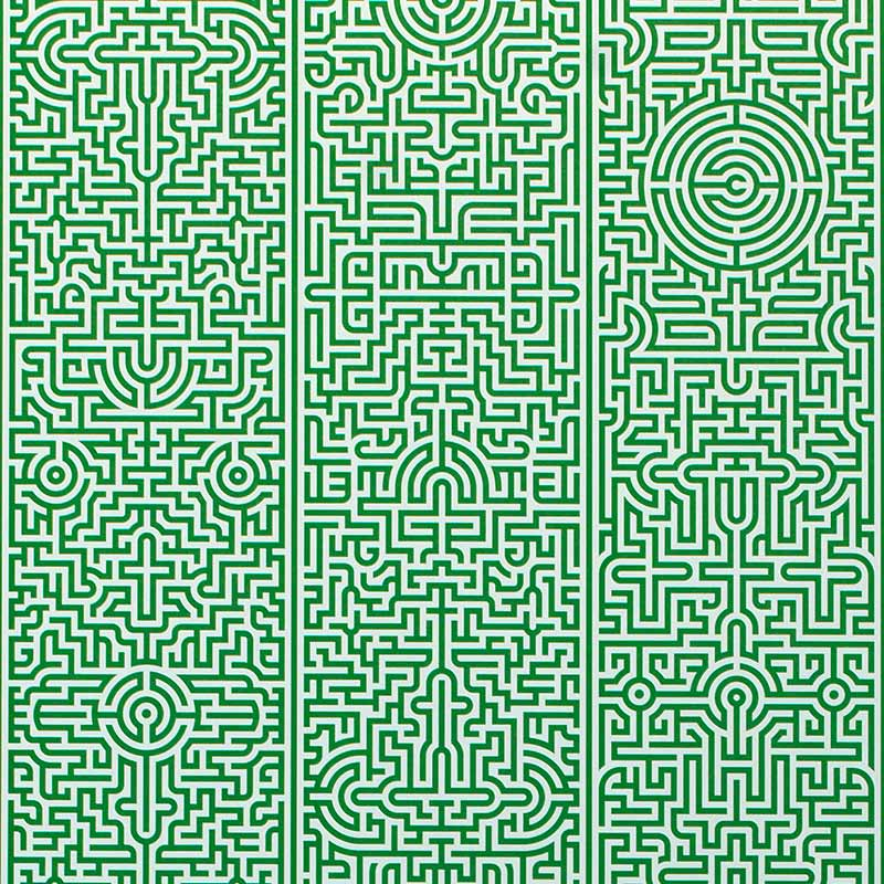 NLXL Labyrinth Wallpaper by Studio Job