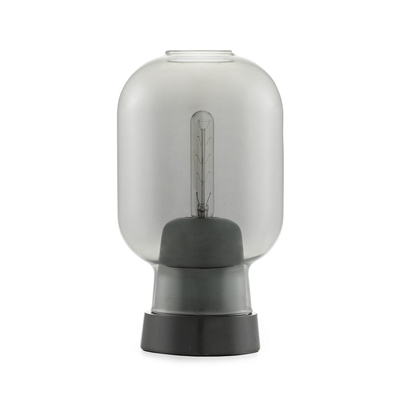 Normann Copenhagen Amp Table Lamp by Simon Legald Olson and Baker - Designer & Contemporary Sofas, Furniture - Olson and Baker showcases original designs from authentic, designer brands. Buy contemporary furniture, lighting, storage, sofas & chairs at Olson + Baker.
