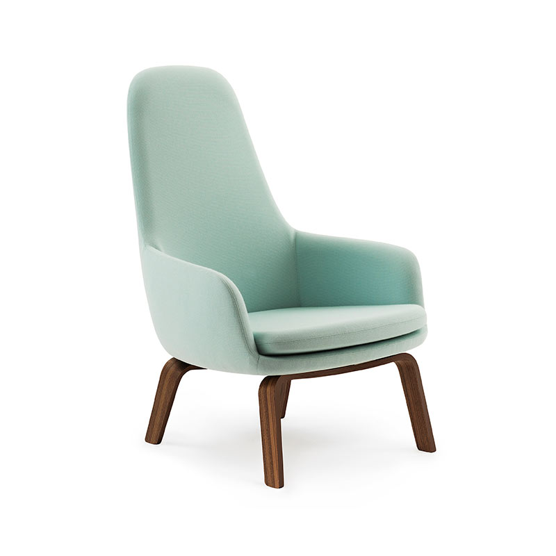 Normann Copenhagen Era High Lounge Chair by Simon Legald