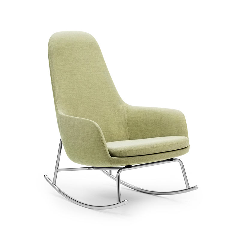 Normann Copenhagen Era Rocking Chair High by Simon Legald