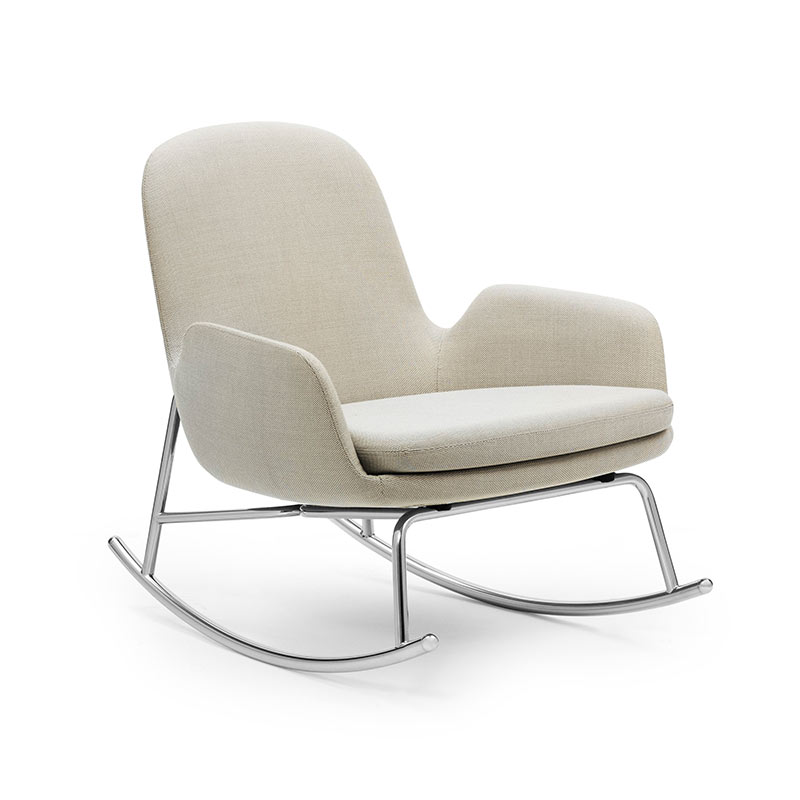 Normann Copenhagen Era Rocking Chair Low by Simon Legald