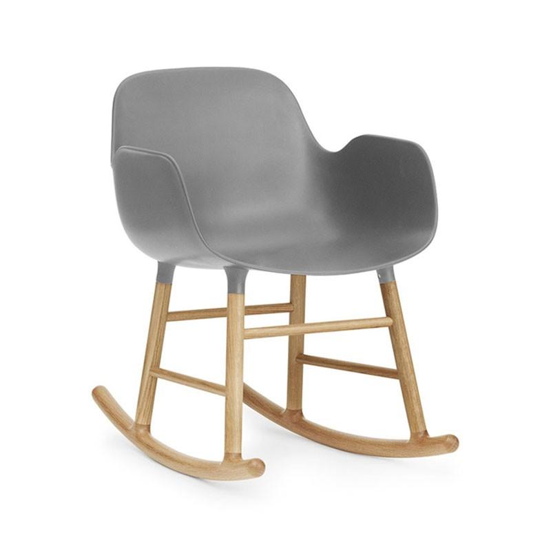 Normann Copenhagen Form Rocking Armchair by Simon Legald