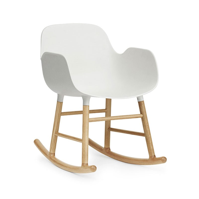 Normann Copenhagen Form Rocking Armchair by Simon Legald