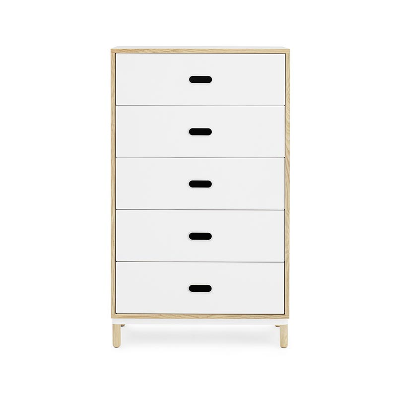 Normann Copenhagen Kabino Five Drawer Dresser by Simon Legald
