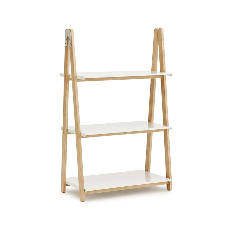 Normann Copenhagen One Step Up Low Bookcase by Francis Cayouette