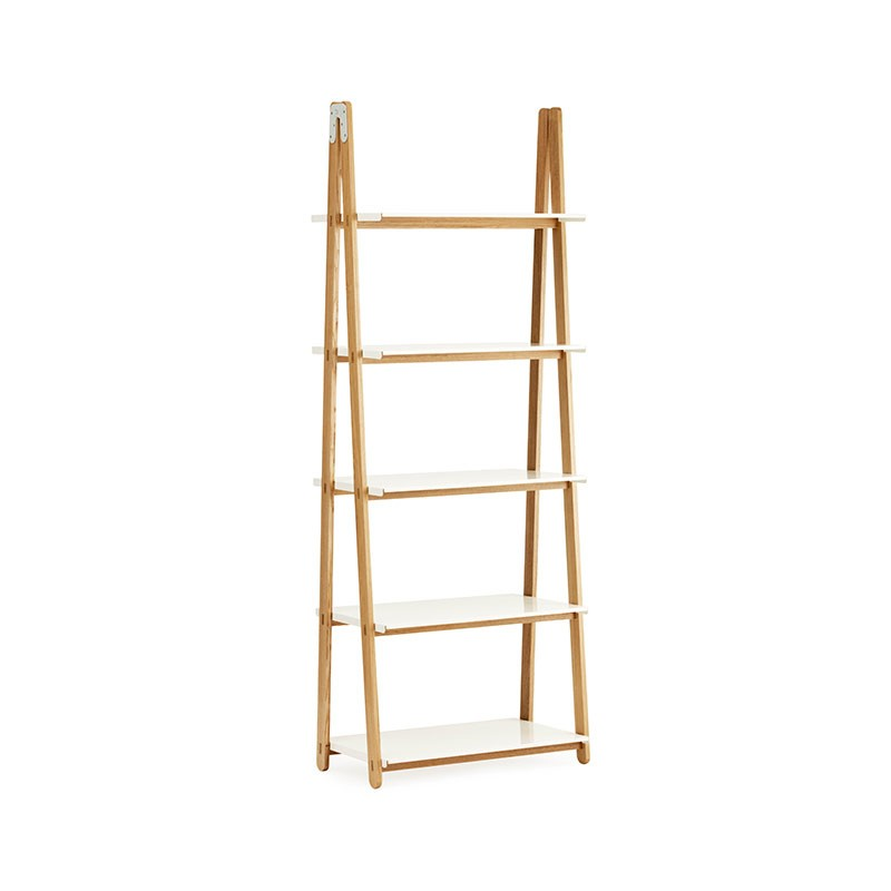 Normann Copenhagen One Step Up High Bookcase by Francis Cayouette