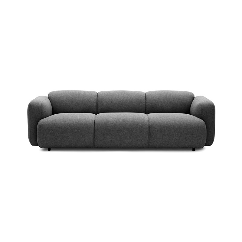 Normann Copenhagen Swell Three Seat Sofa by Jonas Wagell