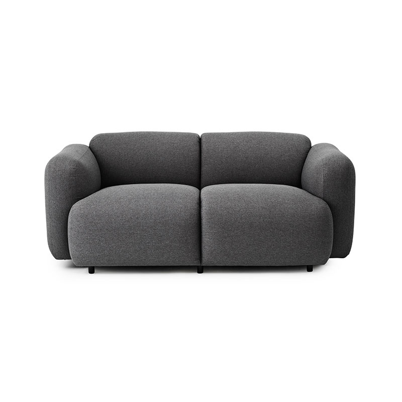 Normann Copenhagen Swell Two Seat Sofa by Jonas Wagell