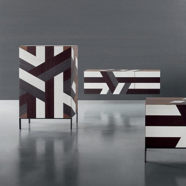 Lounge Senese Sideboard with Three Doors
