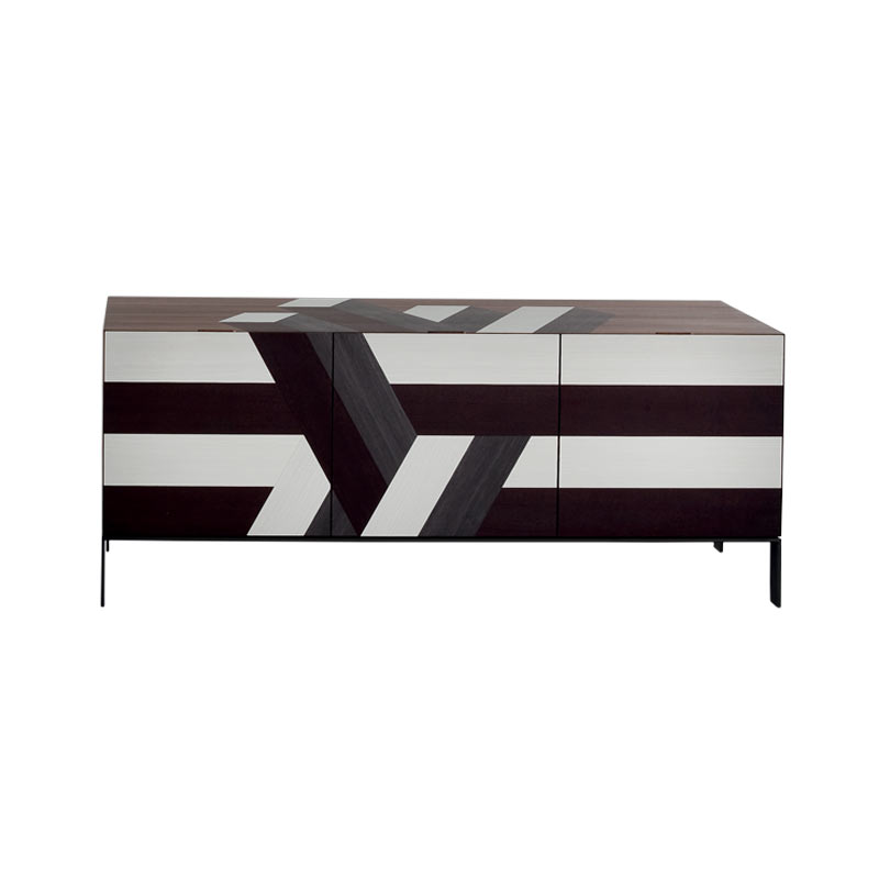 Rossetto Armobil Lounge Senese Sideboard with Three Doors by Rossetto Armobil