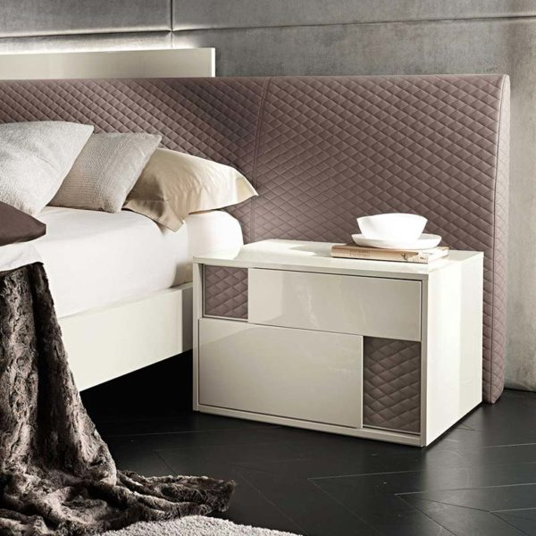 Nightfly Bedside with Two Drawers