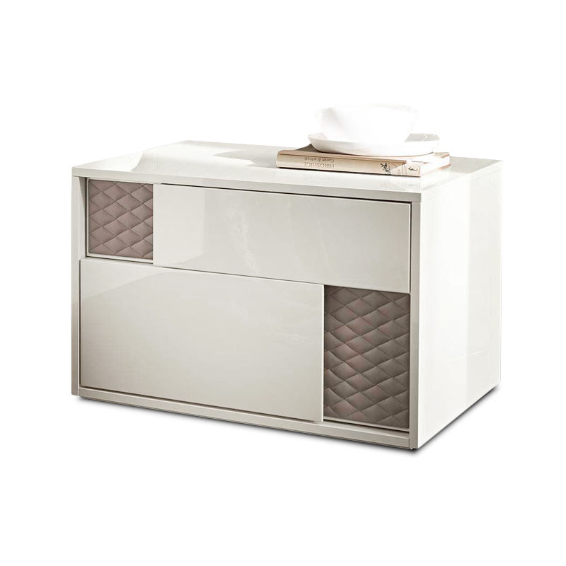 Rossetto Armobil Nightfly Bedside with Two Drawers by Rossetto Armobil
