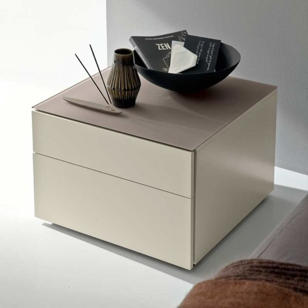 Start Bedside with Two Drawers