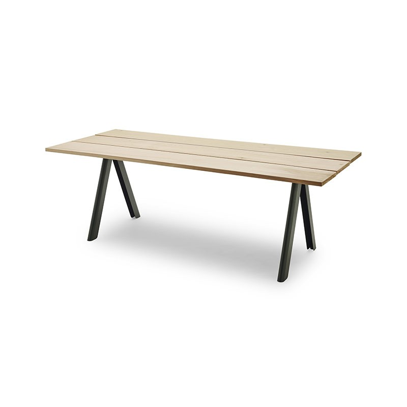 Skagerak Overlap 220x90cm Table by TAF Architects
