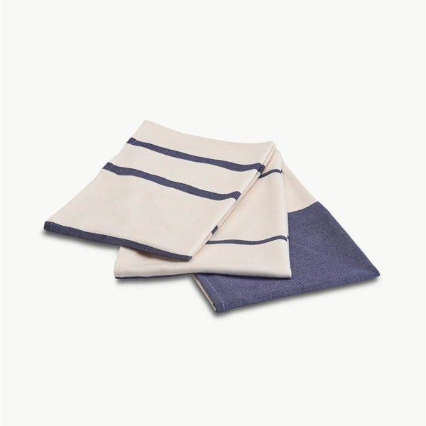 Stripes Pack of Three Tea towels