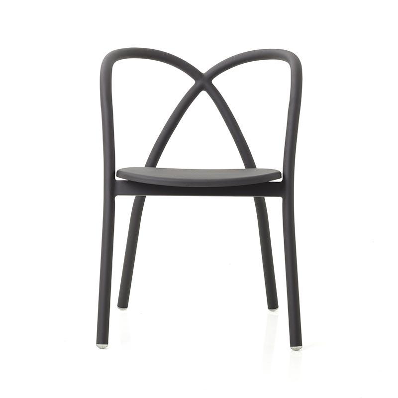 Stellar Works Ming Outdoor Chair in Black by Neri & Hu