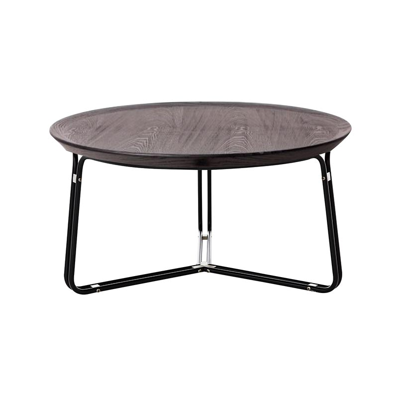Stellar Works QT Round Coffee Table by Nic Graham Olson and Baker - Designer & Contemporary Sofas, Furniture - Olson and Baker showcases original designs from authentic, designer brands. Buy contemporary furniture, lighting, storage, sofas & chairs at Olson + Baker.