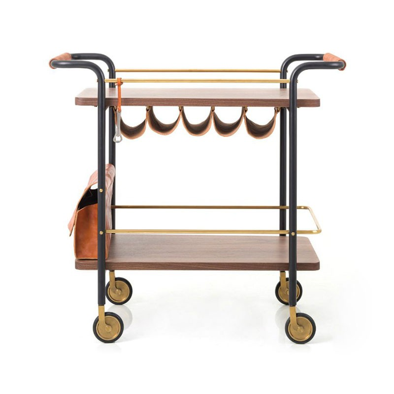 Stellar Works Valet Bar Cart by David Rockwell