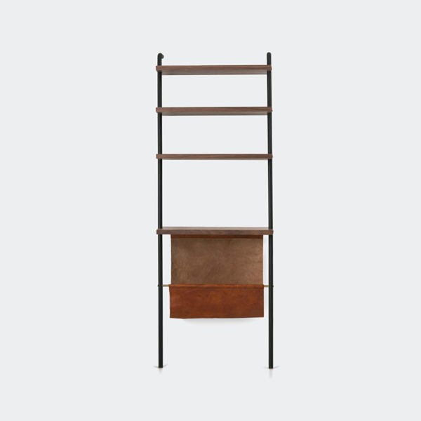Valet Magazine Rack with Display Shelving